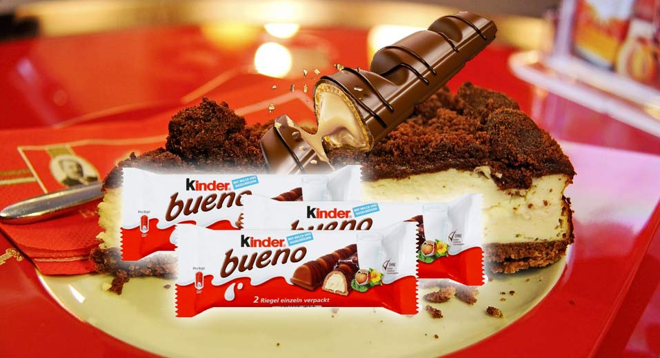 Cheesecake Kinder Bueno